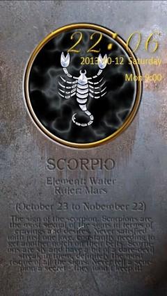 Scorpio Zodiac Go Locker