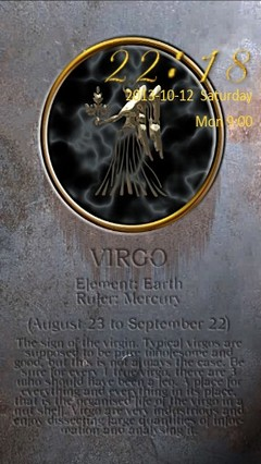 Virgo Zodiac Go Locker