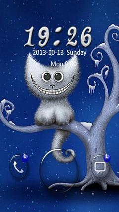 Cheshire Cat Go Locker