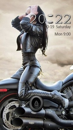 Bike Babe Go Locker