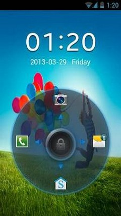 Galaxy S4 Go Locker Theme