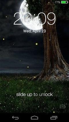 Fireflies Lockscreen