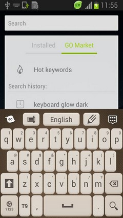 Keyboard Launcher Theme
