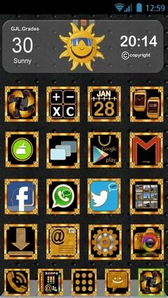 gold.black