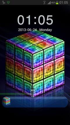 GO Locker Style rainbow cube-1