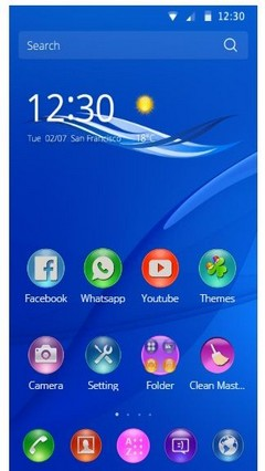 Theme for Sony Z3