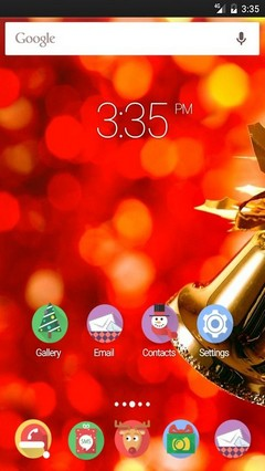 Jingle Bells Multi Launcher Theme