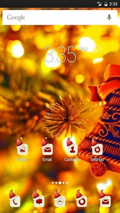 Christmas mood yea Multi Launcher Theme