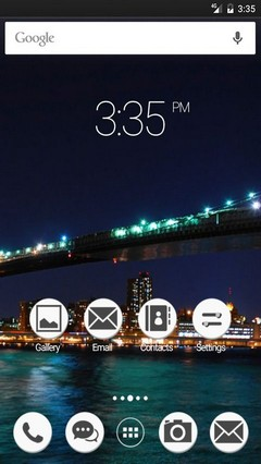Brooklyn bridge NYC GO Launcher Theme