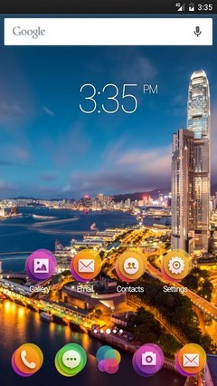 Hong kong night ADW Launcher Theme