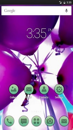 Balloons photo Nova Launcher Theme