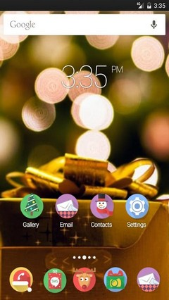 It is xmas time GO Launcher Theme