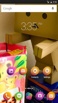 More and more gifts GO Launcher Theme
