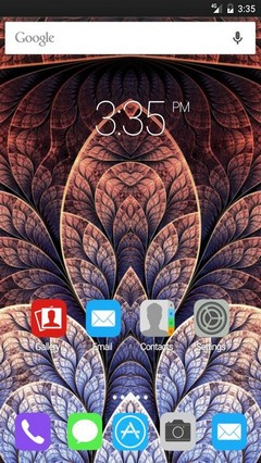 Fractals designs Nova Launcher Theme
