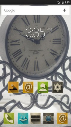 Back in time GO Launcher Theme
