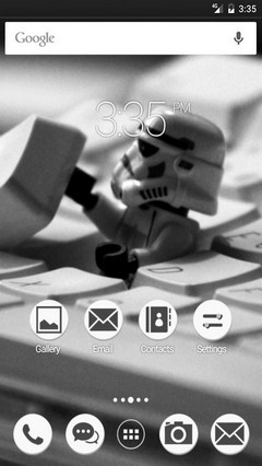 Imperial star wars ADW Launcher Theme