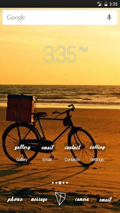 Ride my bike ADW Launcher Theme