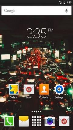 Traffic bangkok ADW Launcher Theme