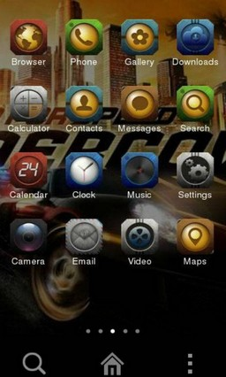 NEED FOR SPEED CLauncher Theme