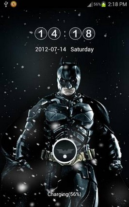 TheDark Knight Rises Go Locker