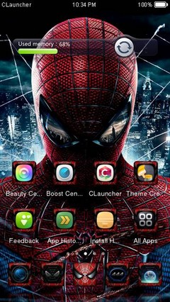 SpiderMan2 CLauncher Theme