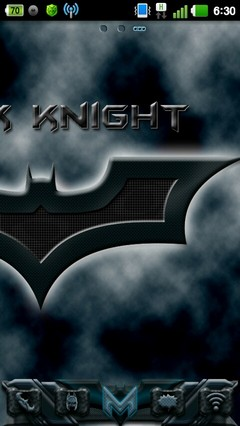 Go Launcher EX Dark Knight 1.0