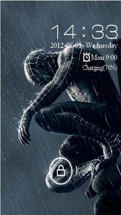 Spiderman Theme Go Locker