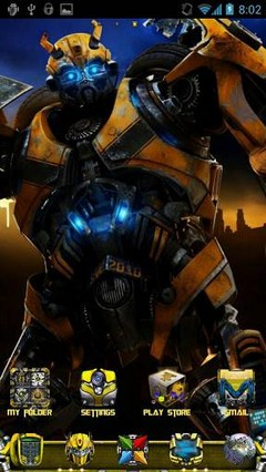 Transformers Bumblebee Theme