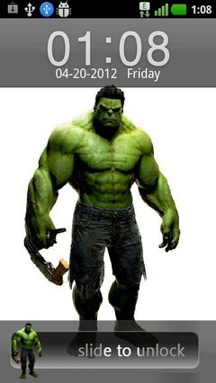 go locker hulk theme