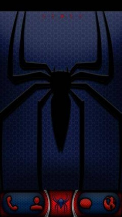 Spider go launcher theme