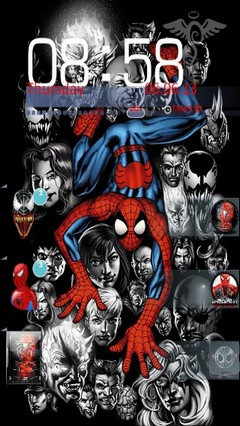 Comic Spiderman Locker