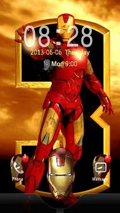 Iron Man Comic Locker