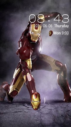 Iron Man Locker
