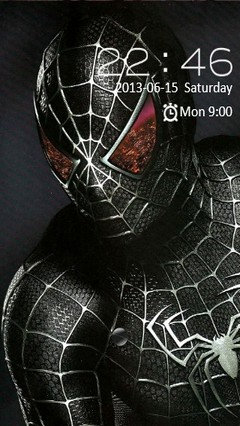 Dark Spiderman Locker
