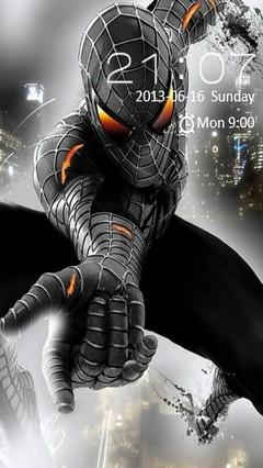 Dark Spiderman Locker