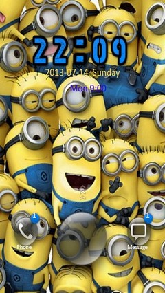 The Minions Go Locker