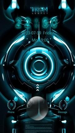 TRON Legacy Go Locker