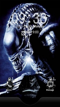 Alien vs Predator Locker