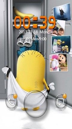 Minions Go Locker