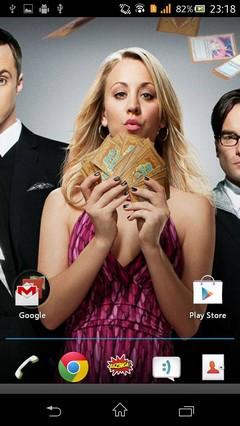 The Big Bang Theory Theme (Apex/GO/ADW/NEXT/NOVA)
