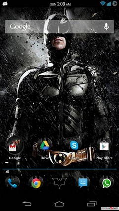 The Dark knight Android Theme (Batman)