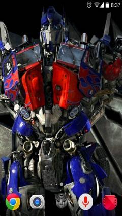 Transformers Theme for Apex Nova launchers