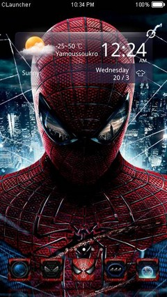 SpiderMan2 CLauncher Theme