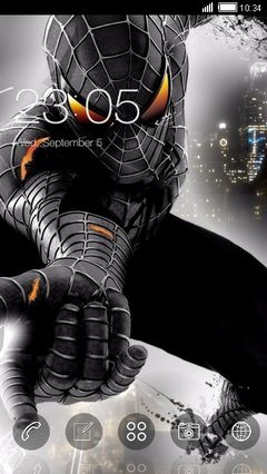 Spider Man In Black
