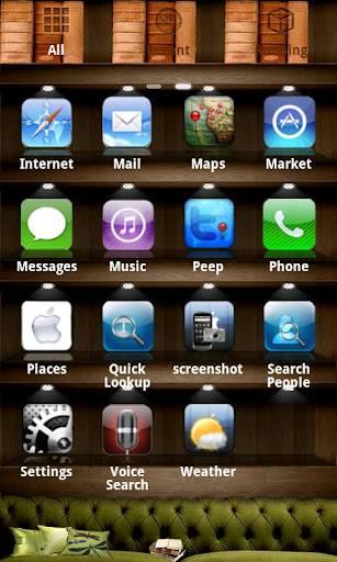 iPhone 4s theme 5 theme Go EX