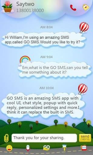 Go Sms Pro Splendid Theme
