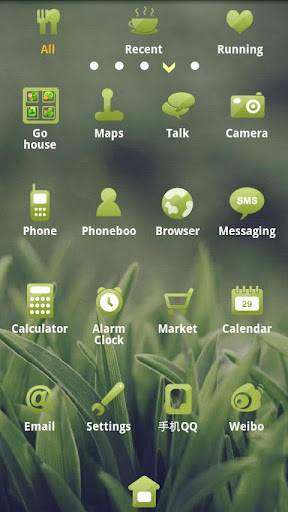 Green Screen Go launcher EX theme