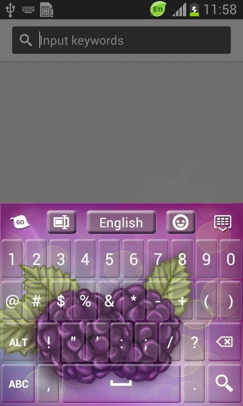 Blackberries Keyboard-release
