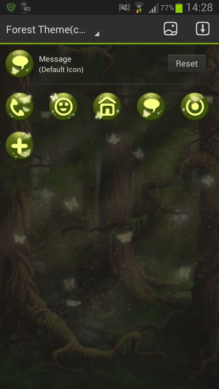 GO Launcher EX Theme Forest-1