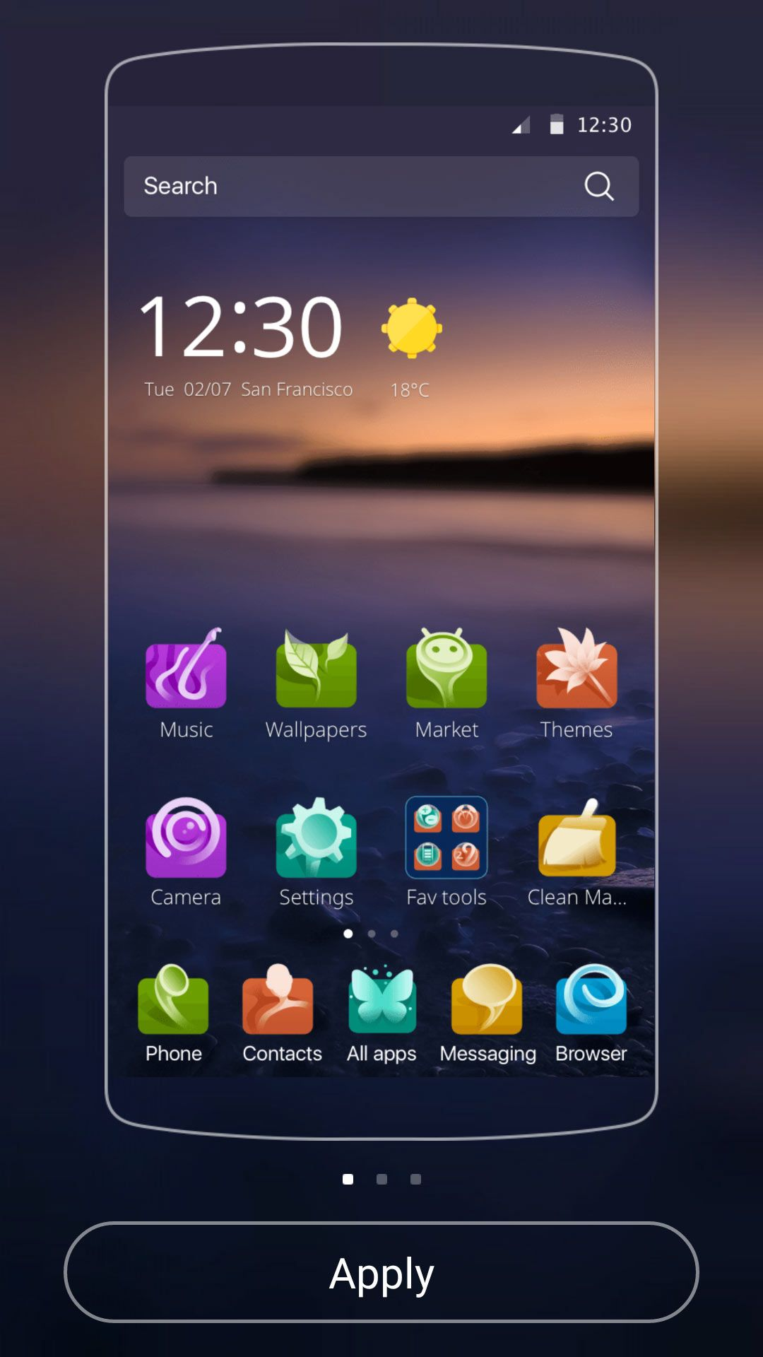 Alive Android Theme